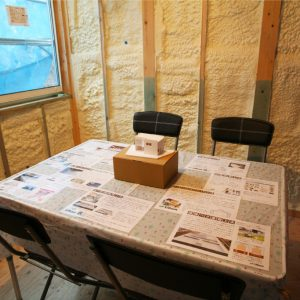 建築中モデルハウスの構造見学・家づくり無料相談会